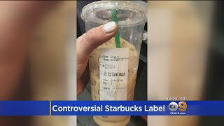 Starbucks Facing More Racism Allegations After Latino Customer Receives Cup With 'Beaner' On The Lab