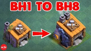 New COC Builder Hall 1 To Builder Hall 8 Max Within 20 Minutes 2018 | COC PRIVATE SERVER