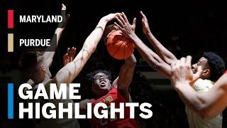 Highlights: Maryland at Purdue | Big Ten Basketball