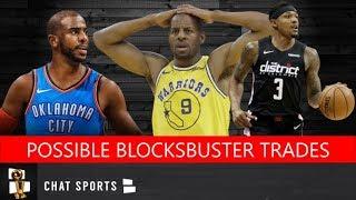 5 Potential NBA Blockbuster Trades Feat. Chris Paul, Bradley Beal, Danilo Gallinari & Andre Iguodala