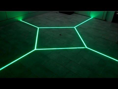 Bathroom floor lights led