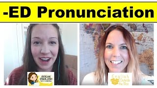 Native -ED Pronunciation Lesson [With Special Guest Jennifer]