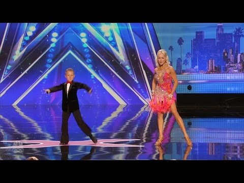 America's Got Talent 2016 Alla & Daniel Novikov Mother Son Dance Duo Full Audition S11E02