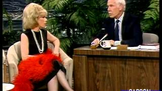 Joan Rivers is Hilarious on Johnny Carson's Tonight Show FULL INTERVIEW, 1986