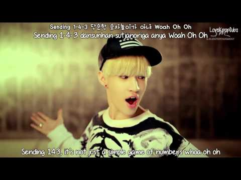 Henry ft. Amber - 1-4-3 (I love you) MV [English subs + Romanization + Hangul] HD