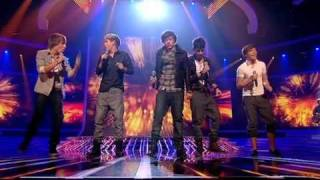 One Direction sing Viva La Vida - The X Factor Live (Full Version)