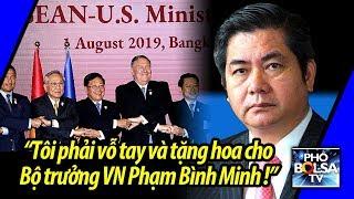"""Ls Hoàng Duy Hùng: """"Tôi phải vỗ tay và tặng hoa cho Bộ trưởng VN Phạm Bình Minh"""""""