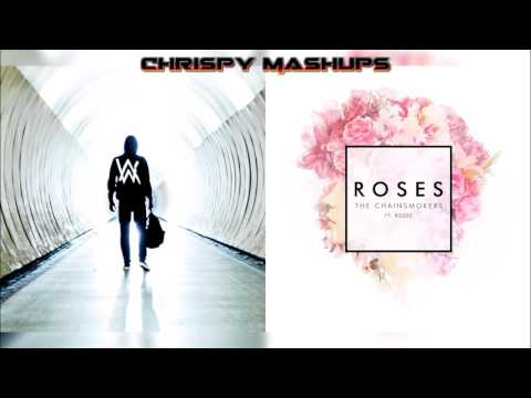 Alan Walker & The Chainsmokers Ft. ROZES - Faded / Roses Mashup