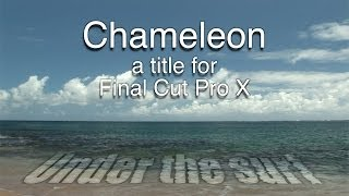 Final Cut Pro X (FCPX) Templates/Plugins 150+ Visual Effects