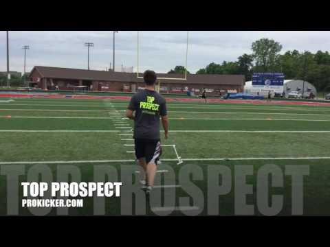 Jared Harjehausen, Field Goals, Ray Guy Prokicker.com Top Prospect Camp 2016
