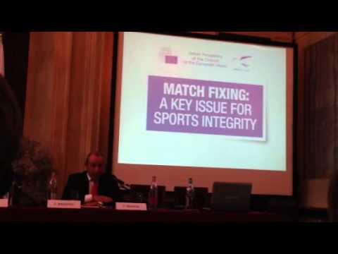 Luigi Magistro (Ag. dogane e monopoli) seminario su match fixing