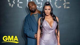 New details on Kim Kardashian and Kanye West's divorce l GMA