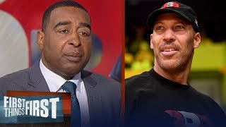 Cris Carter wonders why a player would trust LaVar Ball with their career | FIRST THINGS FIRST