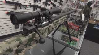 UTG Type 96 Shadow Ops Sniper Rifle Overview and Chrono Test, L96 Airsoft Gun