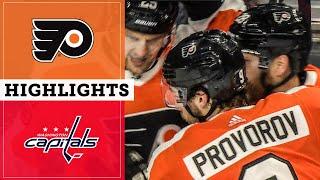 Flyers vs Capitals: November 13th, 2019 | Full Game Highlights | NBC Sports Philadelphia