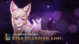 A New Horizon   Star Guardian Ahri Animated Trailer - League of Legends
