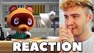 REACTION - Animal Crossing for Nintendo Switch Announcement