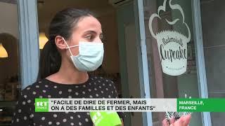 A Marseille, les nouvelles mesures anti-Covid dénoncées par les acteurs de la restauration