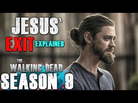 The Walking Dead Season 9 Second Half - Jesus' Exit Explained!