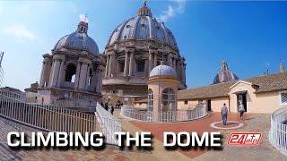 Rome Climbing The Dome St. Peter's Basilica Roma Salita Cupola di San Pietro Feiyutech FY-G4