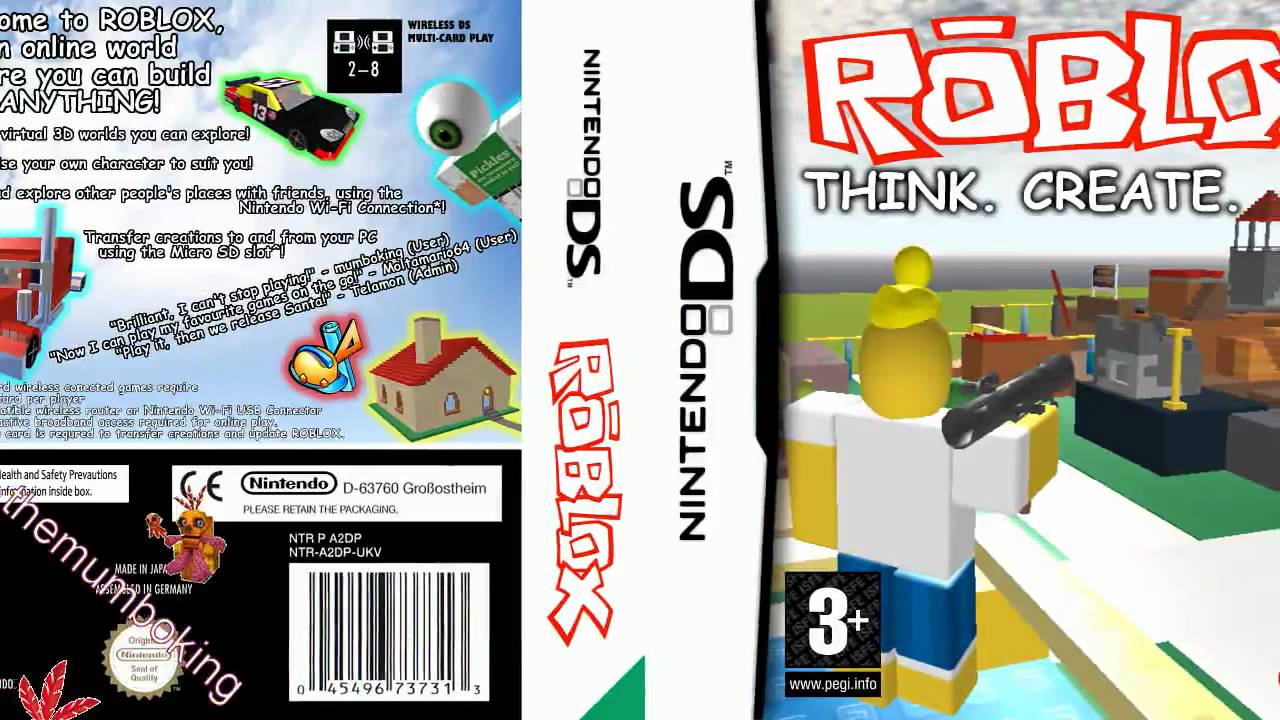 roblox game for nintendo ds