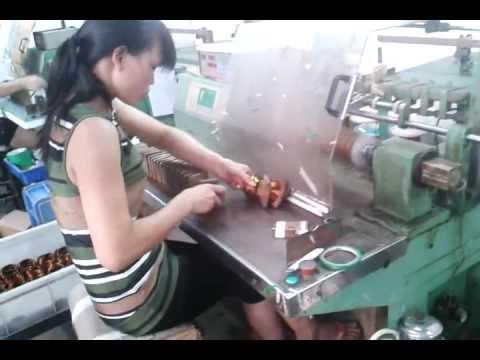 Dlm 0866 Coil Winding Machine Avi Youtube
