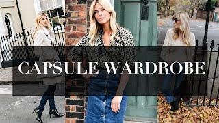 How To Build A Capsule Wardrobe | Winter 2018