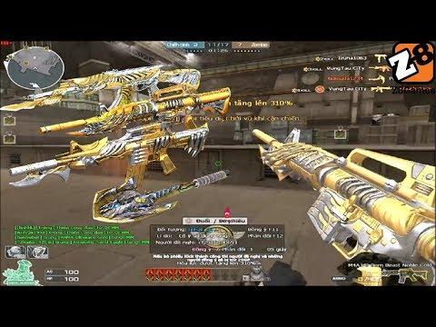 Crossfire NA 2.0 : M4A1 Born Beast Noble Gold | Hero Mode X - Tiền Zombie V4