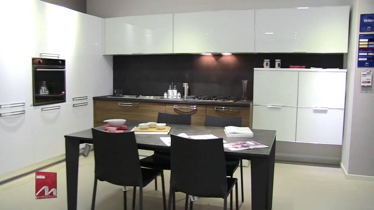 spot cucine moderne stosa copat ar tre mida arredamenti srl gela youtube