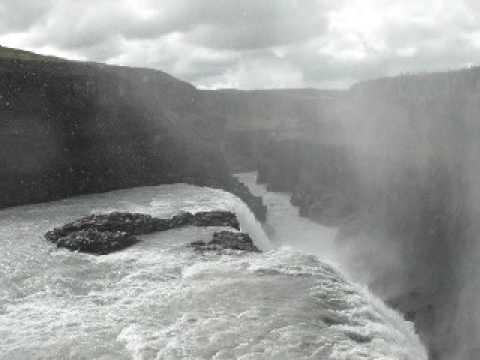 Cascada de Gulfoss (Islandia)