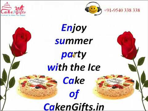 Ice Cakes Offered by CakenGifts in Delhi