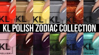KL Polish Zodiac Live Swatches!