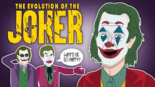 The Evolution Of The Joker (Animated)