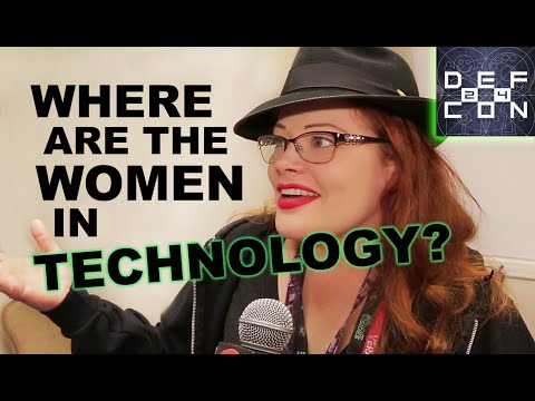 DEF CON 24 ▶︎ Tarah Wheeler Talks Women In Technology