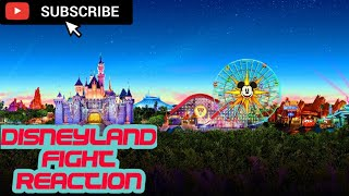 Disneyland Fight reaction July 2019 Toon Town. Graphic!What happened?