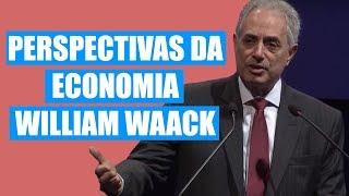 Palestra cenário atual e perspectivas da economia - William Waack