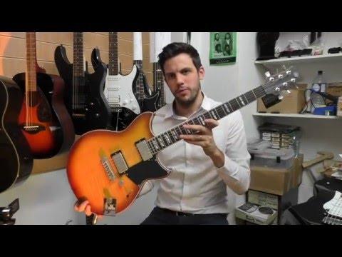 Yamaha Revstar RS620-BCC (Burnt Charcoal) Electric Guitar