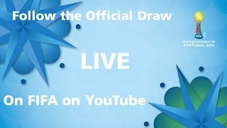 REPLAY: FIFA Beach Soccer World Cup Portugal 2015 - Official Draw