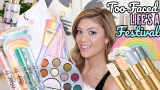 TOO FACED LIFE'S A FESTIVAL COLLECTION | DOPE OR NOPE