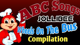 Jollibee Finger Family | ABC Songs | Wheels On The Bus Go Round And Round