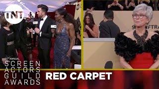 Timothée Chalamet: Red Carpet Interview   24th Annual SAG Awards   TNT