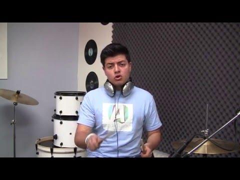 Como tocar la bateria - Aprende a tocar un ritmo basico (HD)