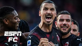 EVERY Zlatan Ibrahimovic touch from AC Milan's win vs. Cagliari | Serie A Highlights