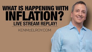 WHAT is Happening with Inflation? - Ken McElroy LIVE!