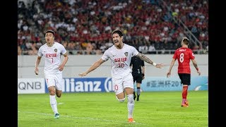 Guangzhou Evergrande 2-2 Tianjin Quanjian FC (AFC Champions League 2018: Round of 16 – 2nd Leg)