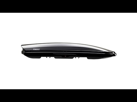 THULE Dynamic 800 (M) Roof Box in Titan Glossy 320 Litre Capacity