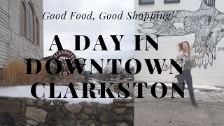 A Day in Downtown Clarkston | Some of Kid Rocks Hangout Places
