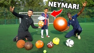 ALL SPORTS MULTI-BALL CHALLENGE vs NEYMAR JR!!