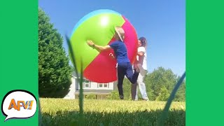 Bigger BALL?! Bigger FAIL! 😅| Funny Videos | AFV 2020