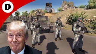 TRUMP'S CONVOY AMBUSH ~ Red Rising Mod - Men of War: Assault Squad 2